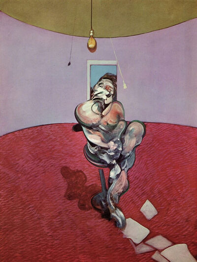 Francis Bacon, 'George Dyer Conversing ', 1966