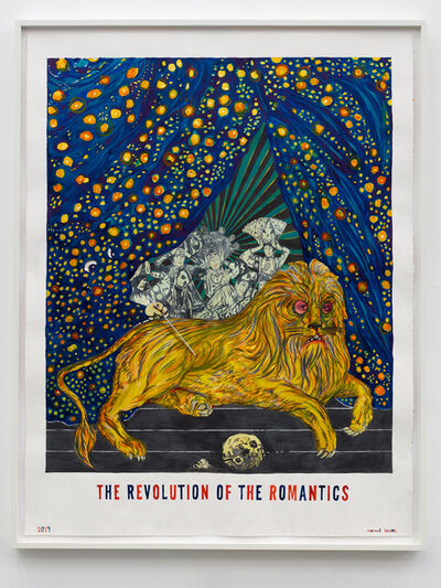 Marcel Dzama, 'The Revolution of the Romantics', 2019