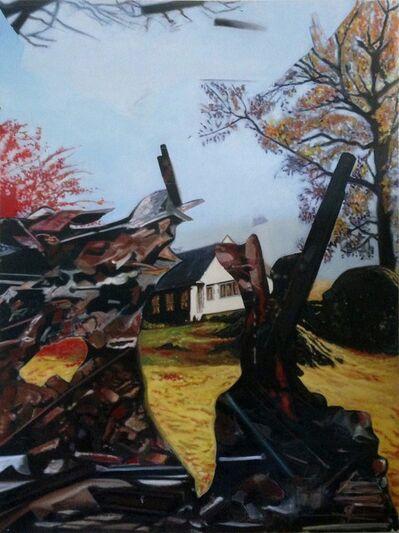 Enrique Hernandez, 'Ruines (Moor Crag)', 2015