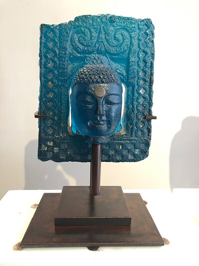 Marlene Rose, 'Temple Buddha - Avon Blue', 2021