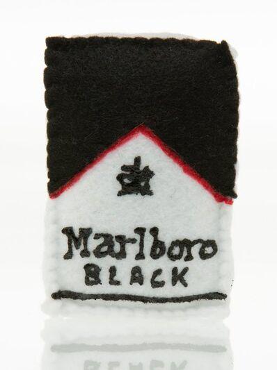 Lucy Sparrow, 'Marlboro (Black)', 2017