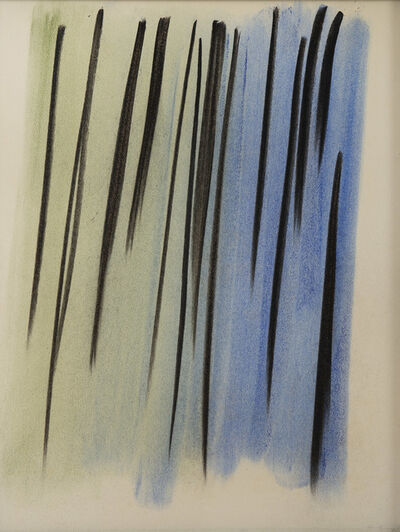 Hans Hartung, 'Composition abstraite', 1957