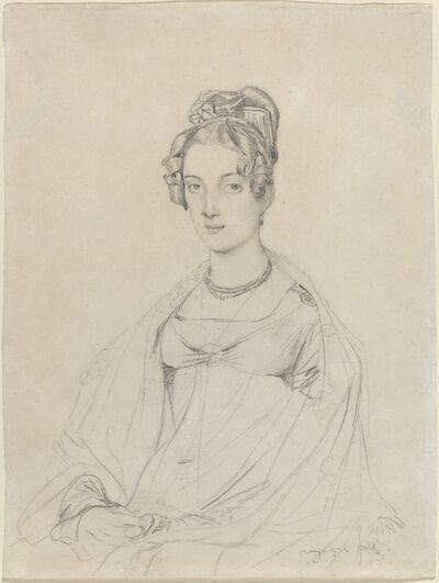 Jean-Auguste-Dominique Ingres, 'Mrs. Edward Dodwell', ca. 1816/1817