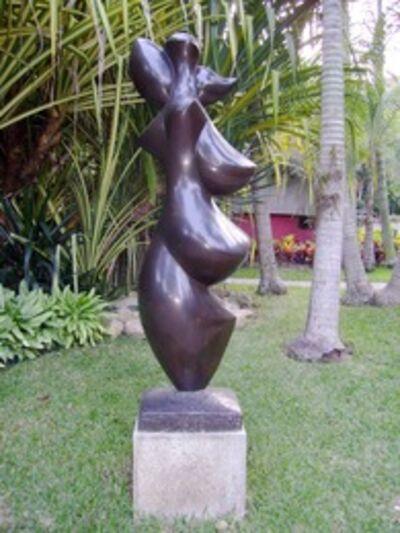 Baltasar Lobo, 'Face au vent', 1977