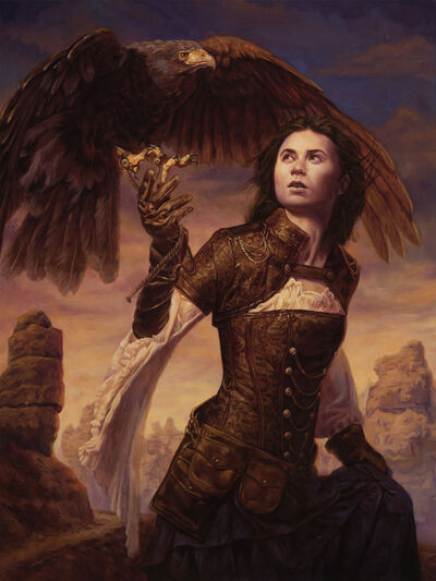 Michael C. Hayes, 'Huntress of the Sky', 2019