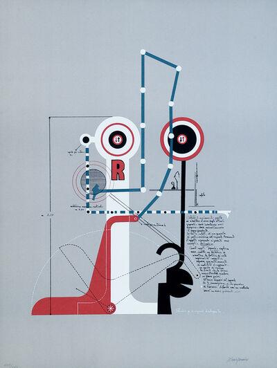 Mario Persico, 'Signals Dialoguing', 1970