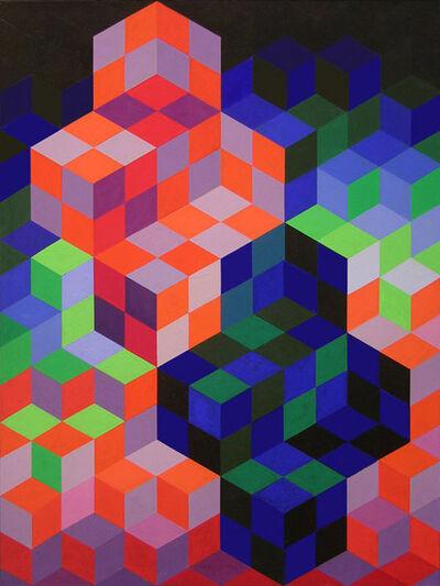 Victor Vasarely, 'Duo-2', 1967