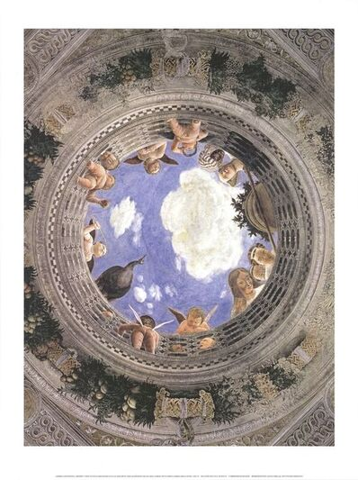 Andrea Mantegna, 'Ceiling of the Palazzo Ducale, Mantua', 2019