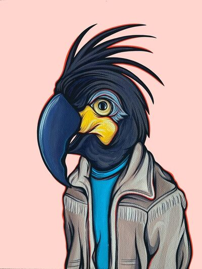 Kaitlin Ziesmer, 'Bird in Your Dad's Coat Toucan', 2018
