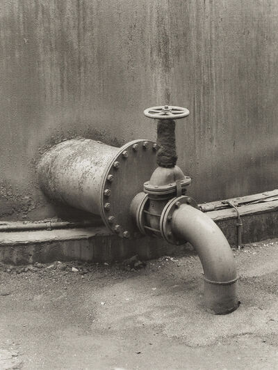 Bernd and Hilla Becher, 'Pipe Detail: Coal Mine', 1990-91