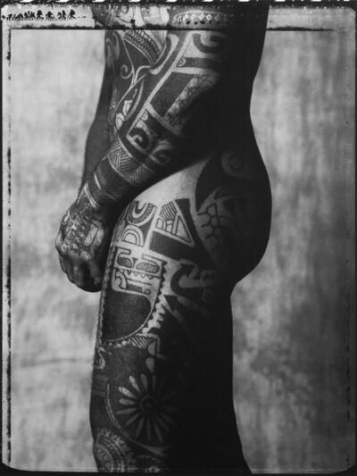 Gian Paolo Barbieri, 'Tahiti tattoo', 1989