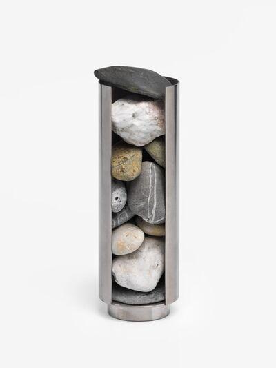Nicole Wermers, 'Rock Dispenser (Stein Spender) / Modell für Aussenskulptur', 2010