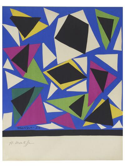 Henri Matisse, 'Centenaire de l'Imprimerie Mourlot. Centenary of the Mourlot Print Studio', 1952