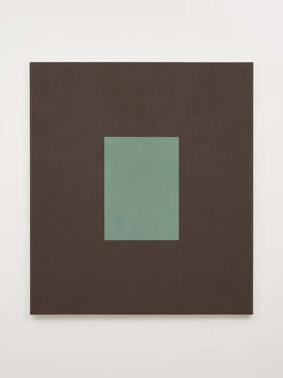 Peter Joseph, 'Green with Brown', 1991