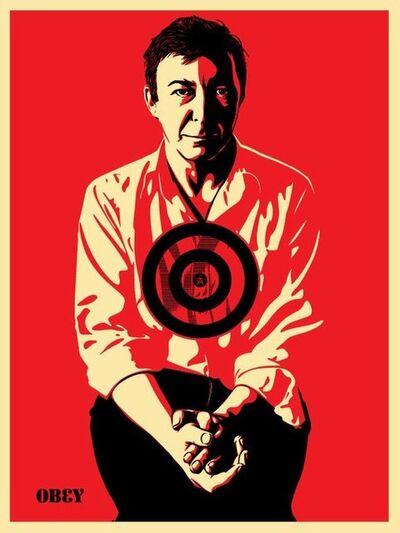 Shepard Fairey, 'Jasper Johns Red', 2009
