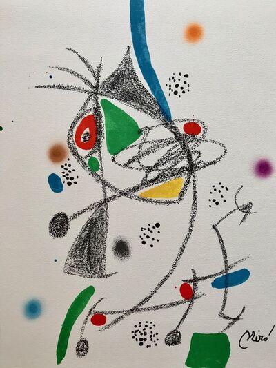 Joan Miró, 'Maravillas con varaciones acrósticas 4', 1975