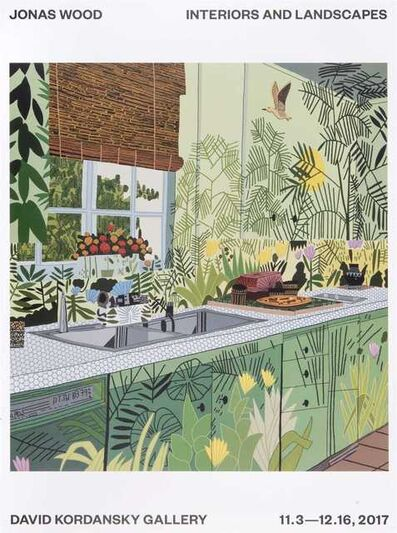 Jonas Wood, 'Interiors And Landscapes', 2017