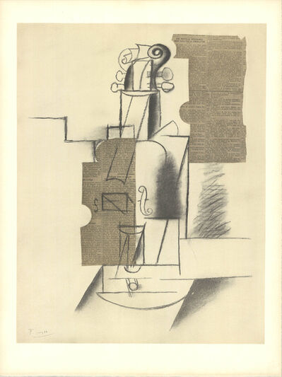 Pablo Picasso, 'Violin', (Date unknown)
