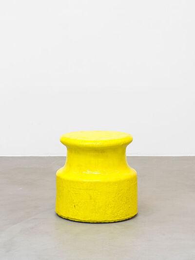 Johan Creten, 'Points d'observation n°24, jaune', 2014-2015