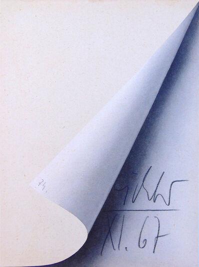 Gerhard Richter, 'Sheet Corner ', 1967