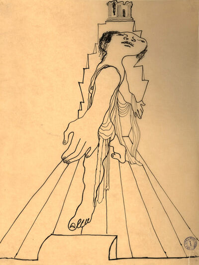 Jean Cocteau, 'The Olympus', ca. 1920