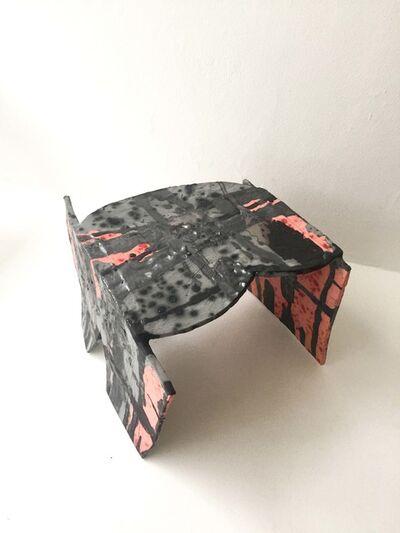 Sarah Entwistle, 'Pink / Grey Table / Shelf', 2018