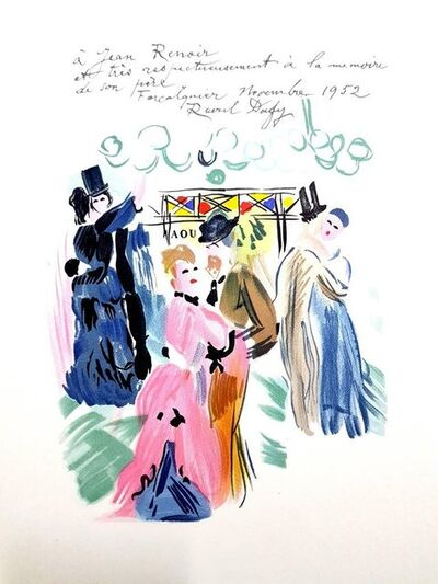 "Raoul Dufy, 'Lithograph ""Homage to Renoir"" after Raoul Dufy', 1965"