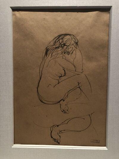 "Raoul Dufy, '""Nu de dos""', 1948"