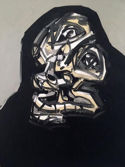 Antonio Saura, 'Portrait No. 6-87', 1987