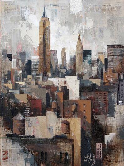 Martí Bofarull, 'Collage under Manhattan', 2015