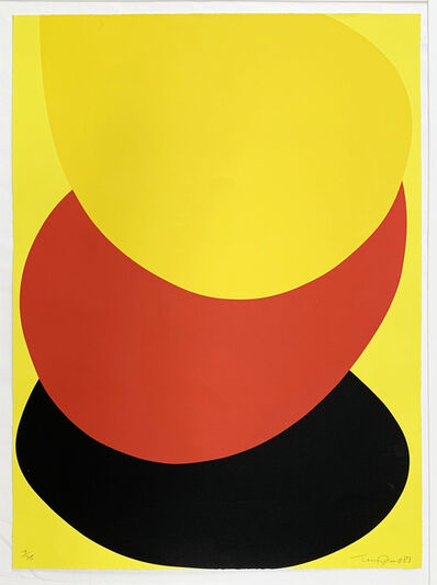 Sir Terry Frost, 'Suspended Red, Yellow and Black ', 1987