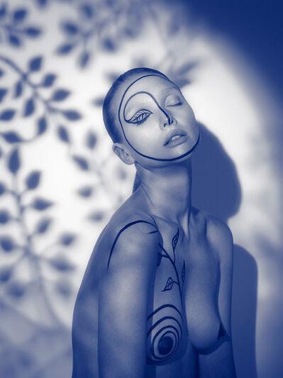 Indira Cesarine, 'Natalya in the Leaves', 2020
