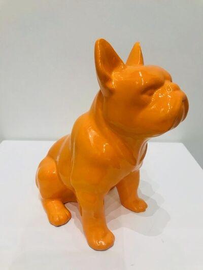 Design by Jaler, 'Boxer Dog - Orange', 2015