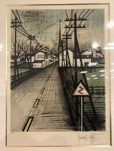 Bernard Buffet, 'The road', 1962