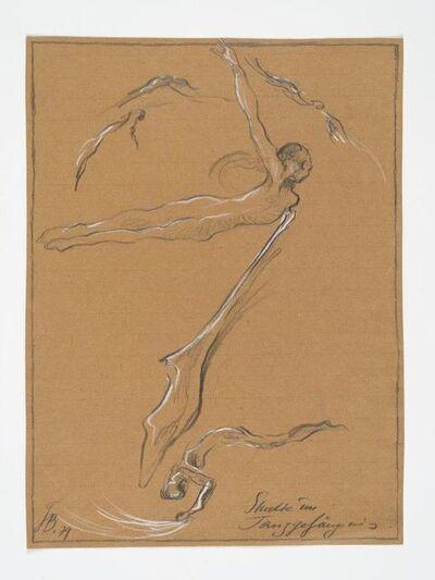 Günter Brus, 'Study in the Dance-Prison (Studie im Tanzgefängnis)', 1979