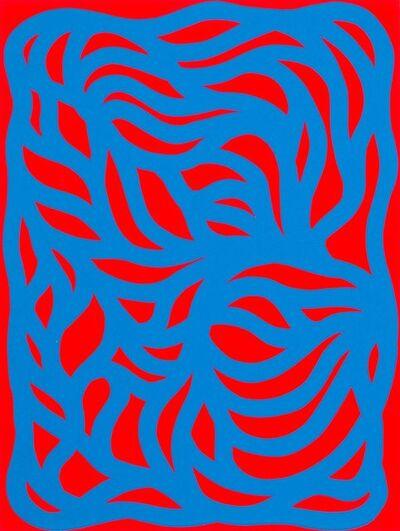 Sol LeWitt, 'Loops, Blue/Red', 1999