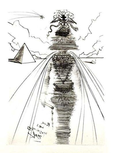 Salvador Dalí, 'Salvador Dali - Cleopatra - Original Etching', 1969