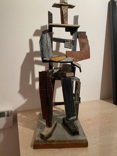 David Bates, 'Seated Man', ca. 1991