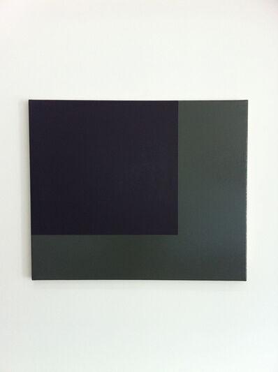 Helmut Federle, 'Corner Field Painting IL', 2001