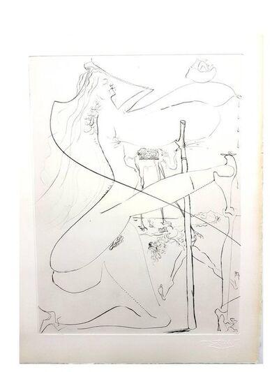 "Salvador Dalí, 'Original Etching ""Venus in Furs VIII"" by Salvador Dali', 1968"