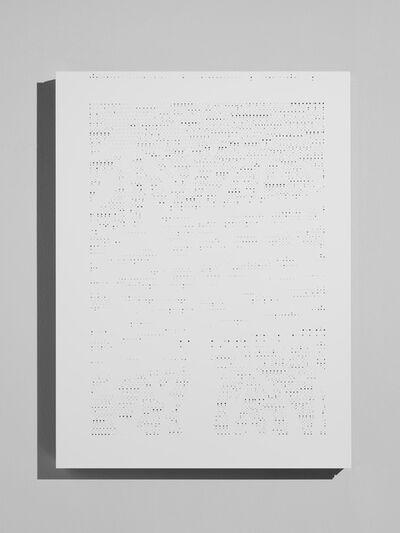 Riccardo De Marchi, 'Pagina strappata', 2014