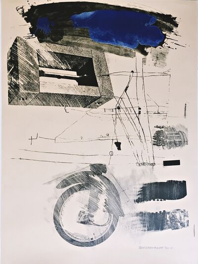 Robert Rauschenberg, 'Test Stone #6 (Blue Cloud) from the Booster and 7 Studies Series (Foster, 45, G:33)', 1967