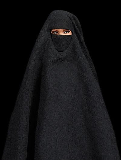 Cecile Plaisance, 'Smoking Burqa'