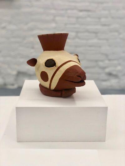 Circe Irasema, 'From the Museum of Pre-Columbian Art Cusco, Peru: Llama Head Pitcher. Ceramics Huari (wari) 800 - 1300 A.D. (Series: Replicas for a personal collection)', 2019