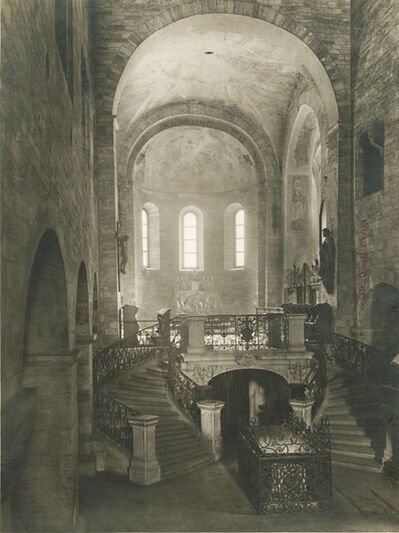 Jaromír Funke, 'Basilica of Saint George at Prague Castle, Interior', 1930s/1930s
