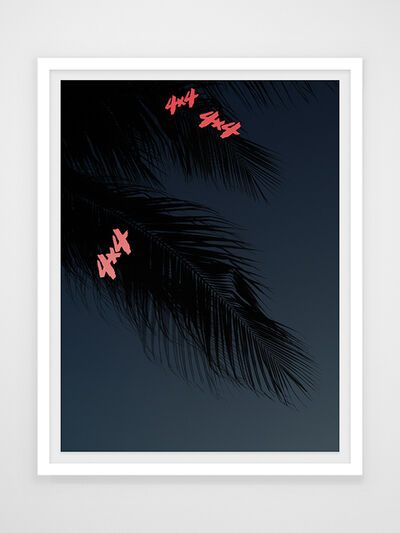 Joseph Desler Costa, 'Night Palms', 2019