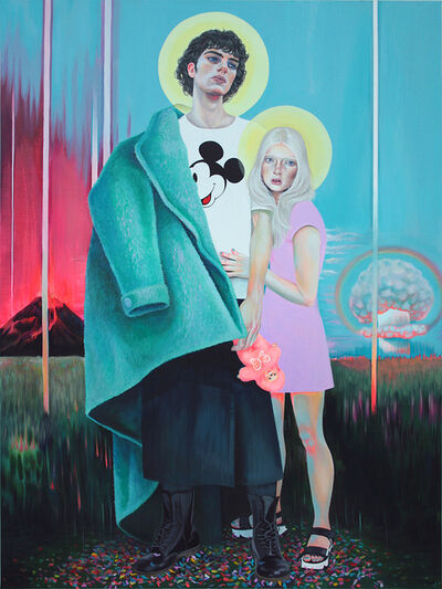 Martine Johanna, 'Acid Clouds & the Unlikely Heroes', 2018