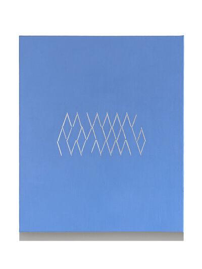 Isaac Chong Wai, '44 lines in aluminium', 2018