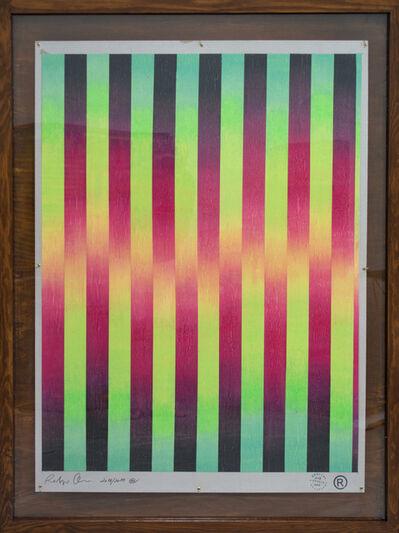 Rodrigo Oliveira, 'Tramas sinópticas (stripes project), #1', 2018-2019