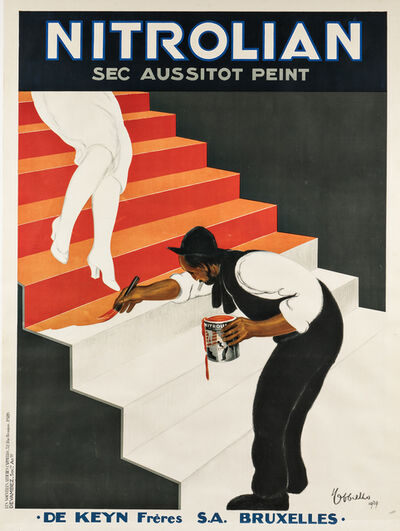 Leonetto Cappiello, 'Nitrolian Sec Aussitôt Peint', 1929